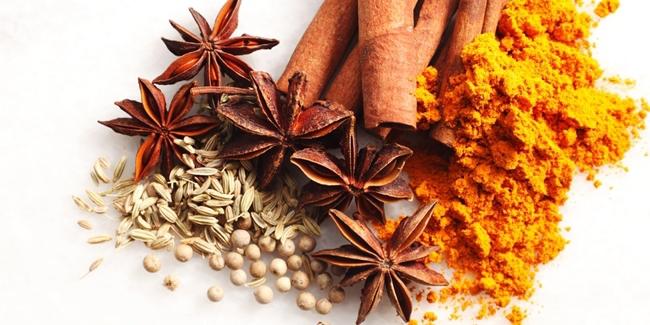 Rempah-rempah sebagai obat. Foto: shutterstock