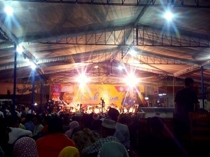ngaji bareng Cak Nun di Kediri