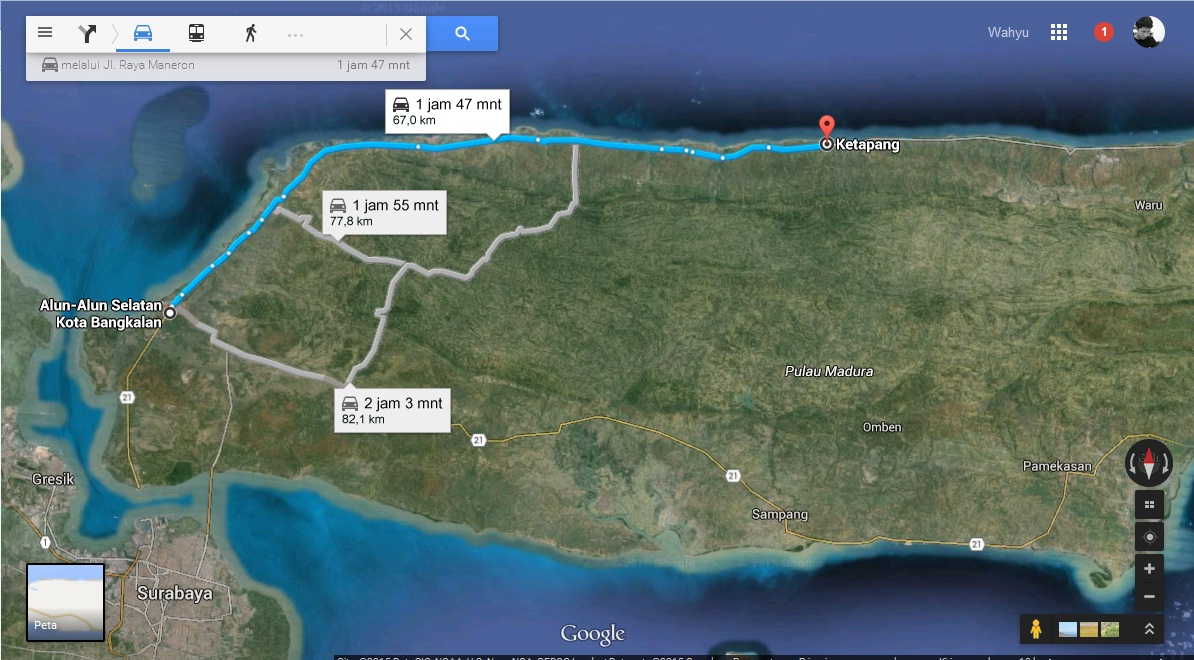 pesisir utara Madura