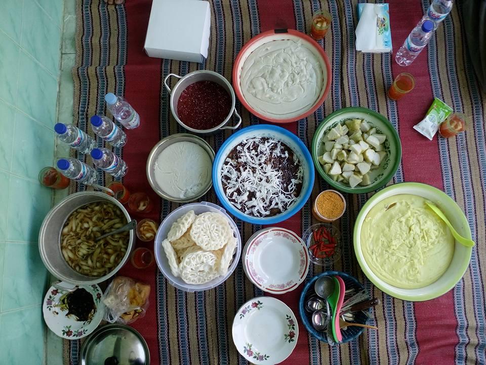 topa ladha tajin campur madura dan kobbhu khas desa Kebun kamal Bangkalan madura