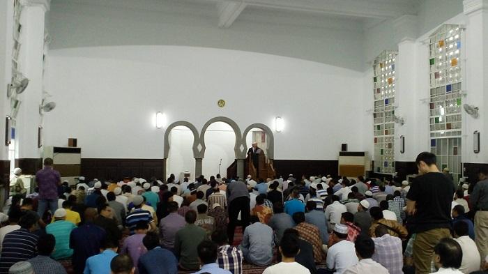 masjid agung taipei saat jumat
