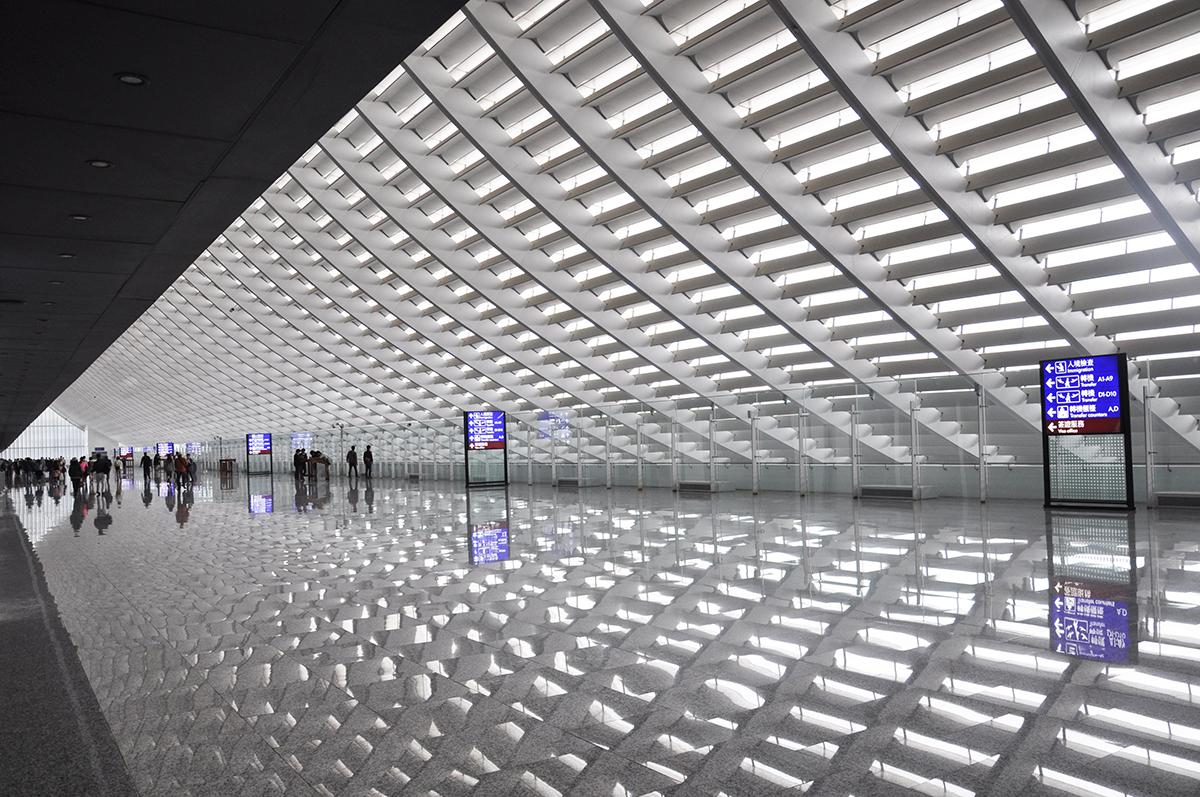 Bandara Internasional Taoyuan - Foto: arcspace.com