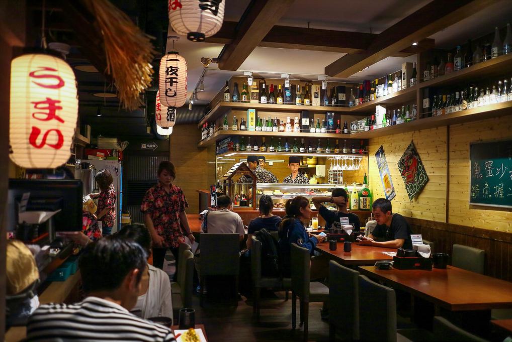 restoran jepang di Taiwan